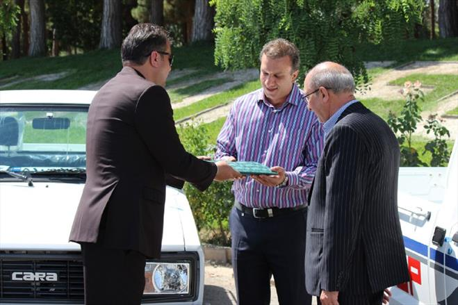 اهدای خودروی مزدا کارا به برندگان جشنواره سپاس