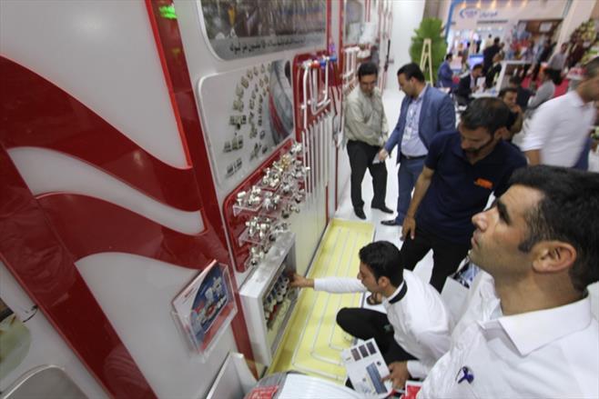 روز نخست نمایشگاه ساختمان ۹۶
