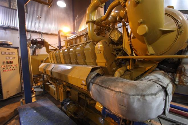 نیروگاه ۸ مگاواتی سروش صنعت