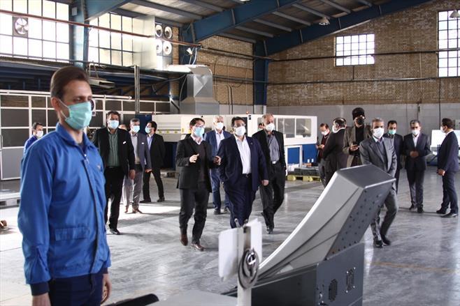 بازدید اعضای اتاق بازرگانی اصفهان از گیتی پسند
