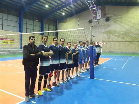 روز سوم مسابقات والیبال کارکنان