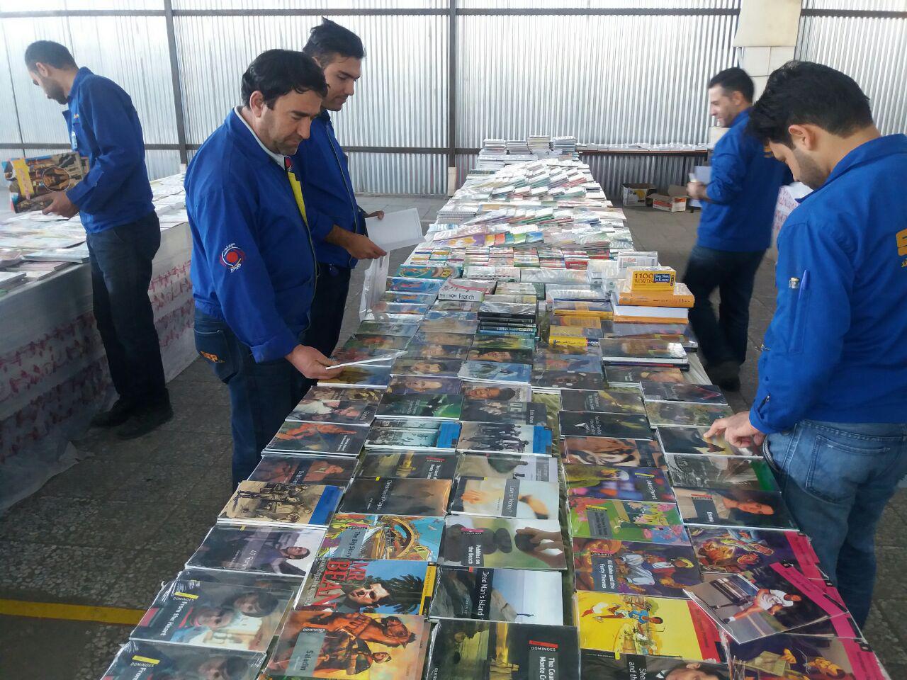 نمایشگاه کتاب به مناسبت دهه فجر