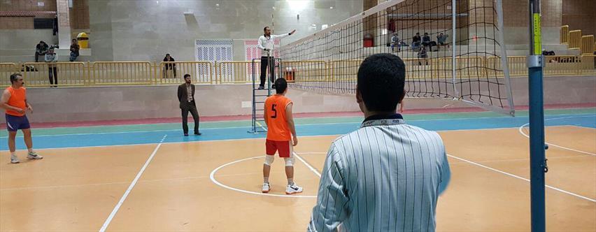 مسابقات والیبال کارکنان