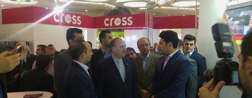 نمایشگاه ورزش تهران ۹۶ بازدید وزیر