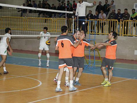 روز پایانی مسابقات والیبال گروه