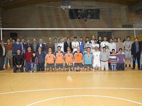 روز پایانی مسابقات والیبال کارکنان گروه