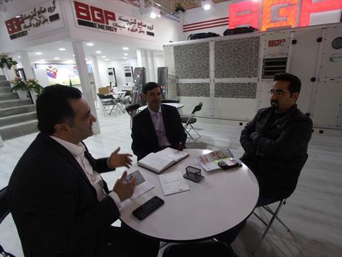 نمایشگاه شانزدهم تاسیسات تهران ۹۶