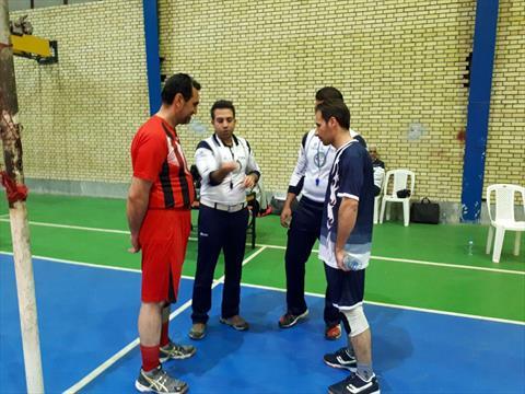 روز دوم مسابقات والیبال کارکنان گروه