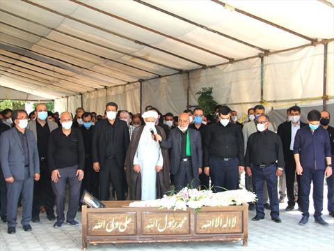 تشییع حاج ناصر جنتی