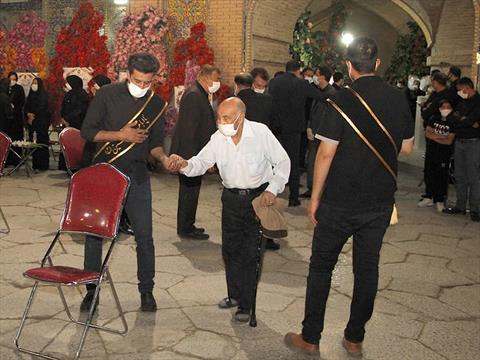 بزرگداشت حاج ناصر جنتی