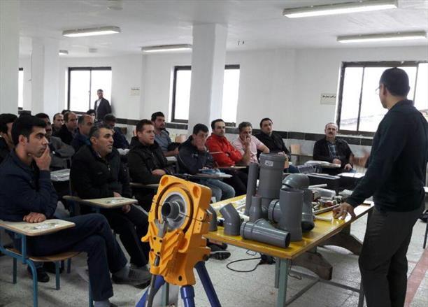 دوره آموزشی مجریان تاسیسات شهرهای چالوس و نوشهر