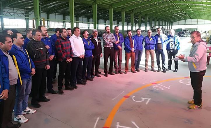 هفته نخست مسابقات ورزشی مدیران ارشد گروه ۹۶
