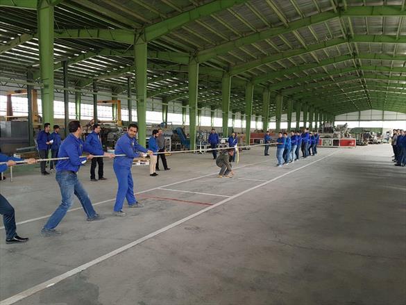 دومین روز مسابقات ورزشی کارکنان گروه صنایع گیتی پسند ۹۶
