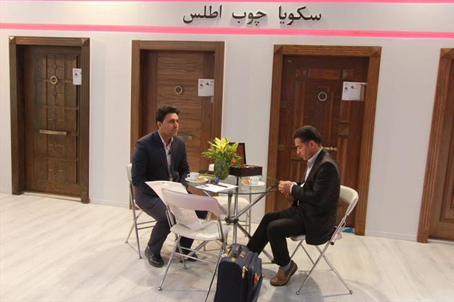روز نخست نمایشگاه در و پنجره تهران ۹۷