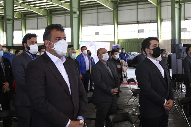 مراسم اختتامیه مسابقات ورزشی کارکنان گیتی پسند