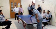 برترین های مسابقات تنیس روی میز دو نفره دفاتر اصفهان