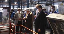 بازدید رئیس دانشگاه اصفهان از گیتی پسند